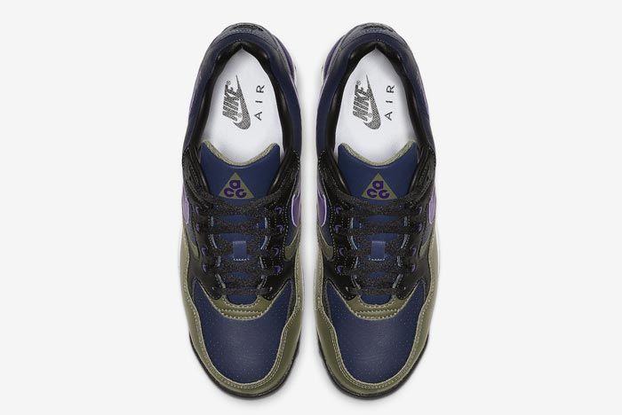 Nike Acg Wildwood Court Purple Midnight Navy Top