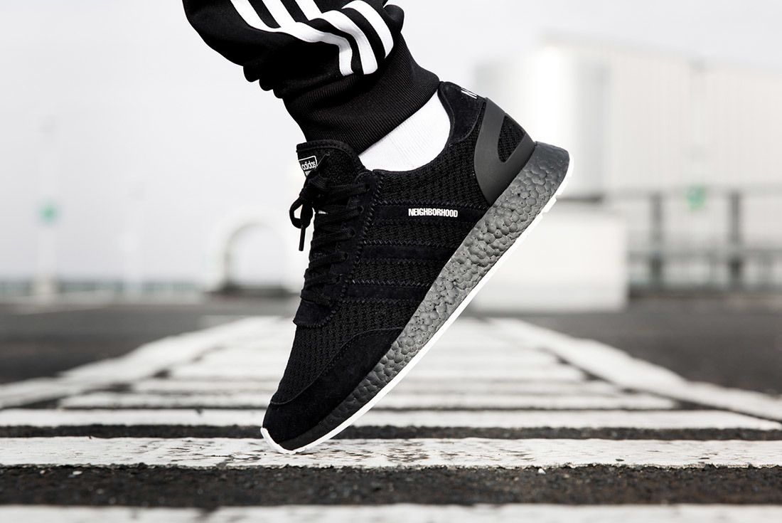 Neighborhood X Adidas Gazelle Nmd R1 On Foot Sneaker Freaker 5
