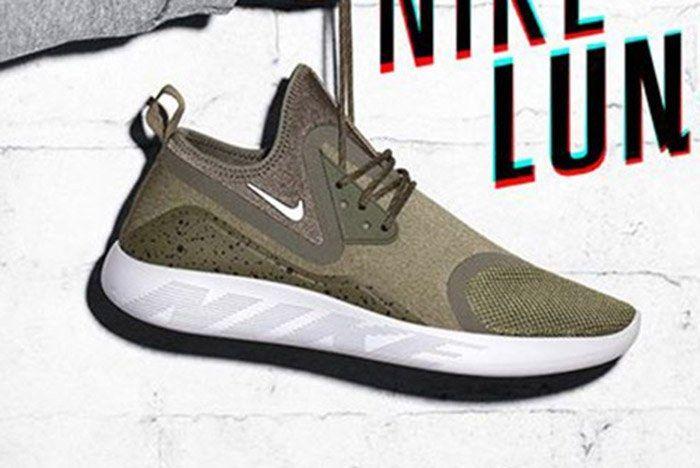 Nike Lunarcharge Olive Green Thumb
