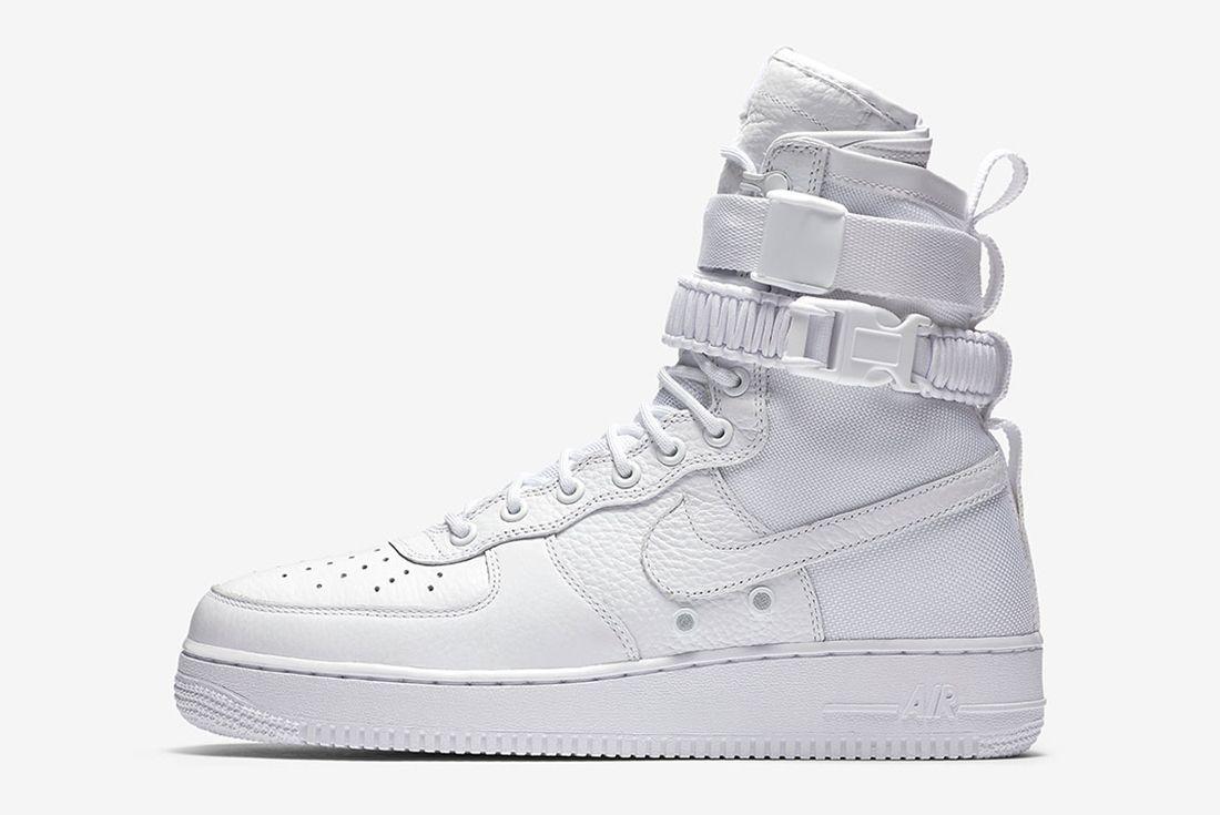 Nike Sf Af1 Triple White6