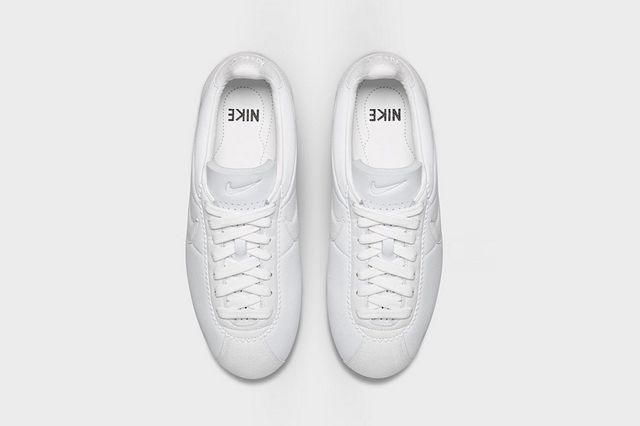 Nikelab Cortez Big Tooth Triple White 3