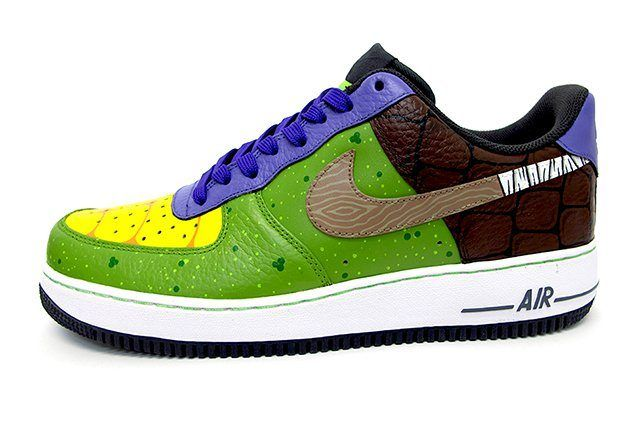 Sekure D Air Force 1 Custom Donatello Tnmt