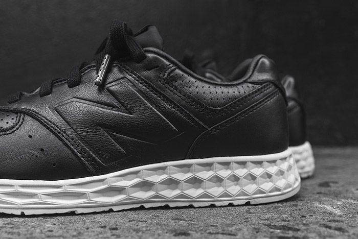New Balance 574 Fresh Foam Black Leather 1
