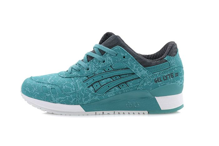 Asics Gel Lyte Iii Marble Kingfisher Blue 2