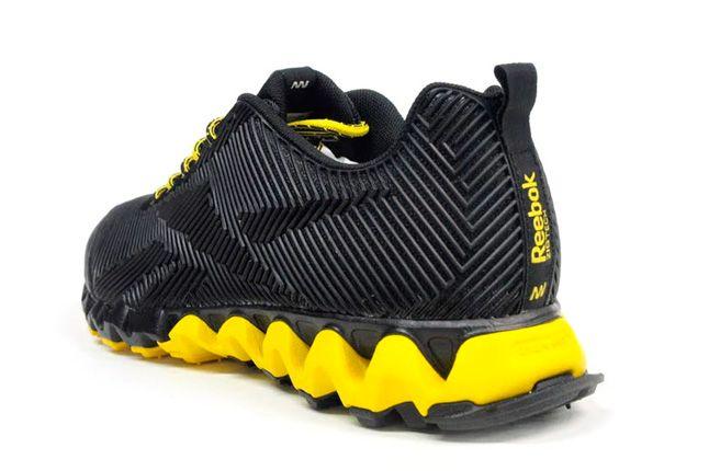 Reebok Zigmaze Quater Back Black Yellow 1