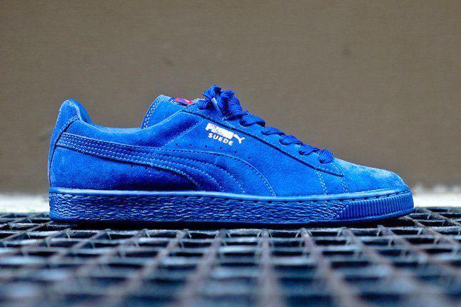 Puma Suede Mazarine Blue 6