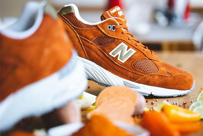 New Balance 990 Burnt Orange 1