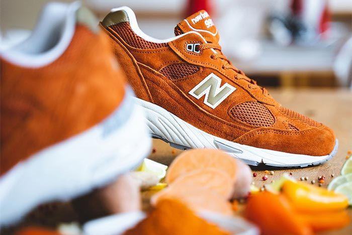 New Balance 990 Burnt Orange 1