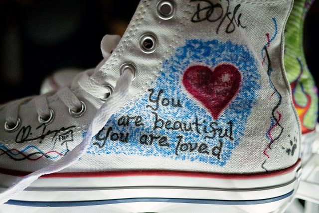 Converse And Warner Music In Their Shoes Charity 14