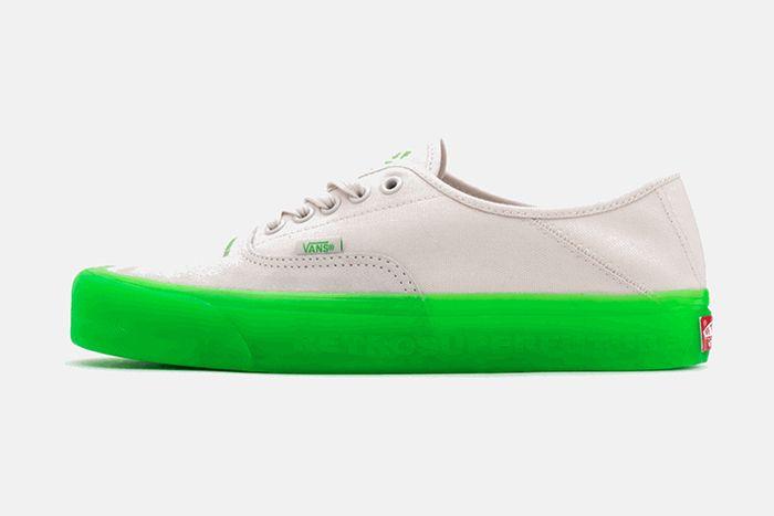 Retrosuperfuture Vans Vault Og Style 43 Lx Green Release Date Lateral