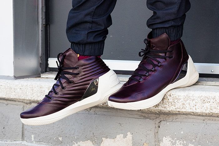 Under Armour Curry Lux Oxblood 3