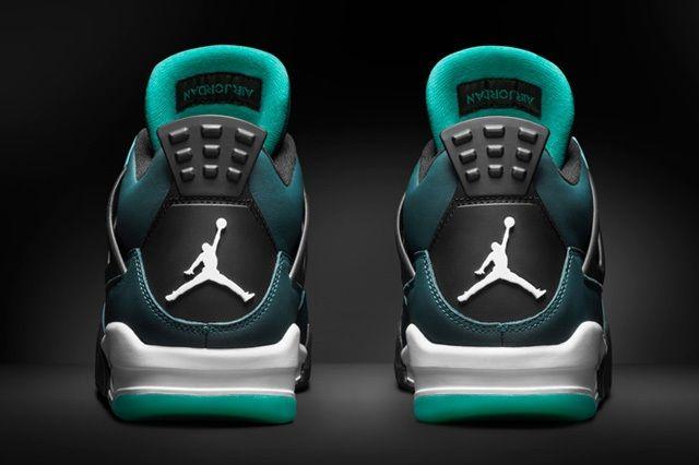 Air Jordan 4 Teal Teaser 3