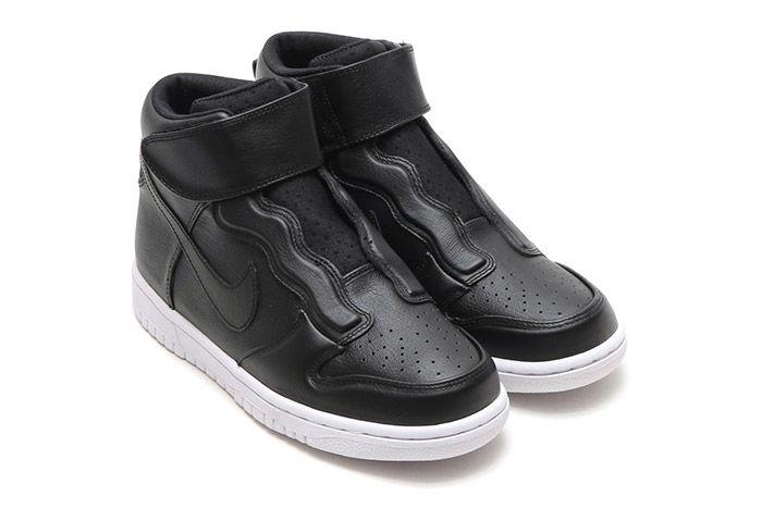 Nike Dunk Hi Ease Womens Black 1