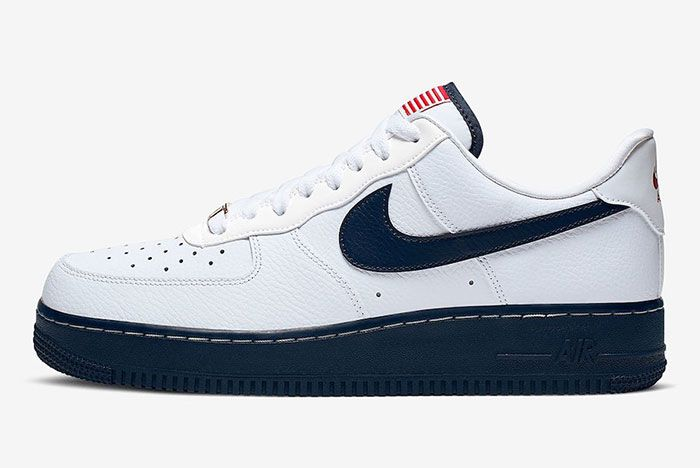 Nike Air Force 1 Usa Flag Ck5718 100 Lateral