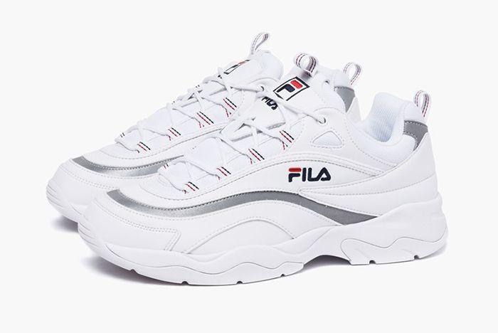 Fila Ray Fs1Sia11 65X White Silver Sneaker Freaker