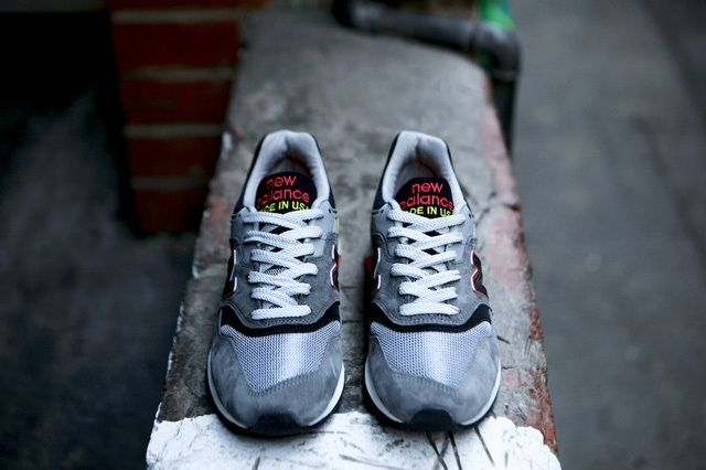 New Balance 997 Made Usa Dark Grey 7