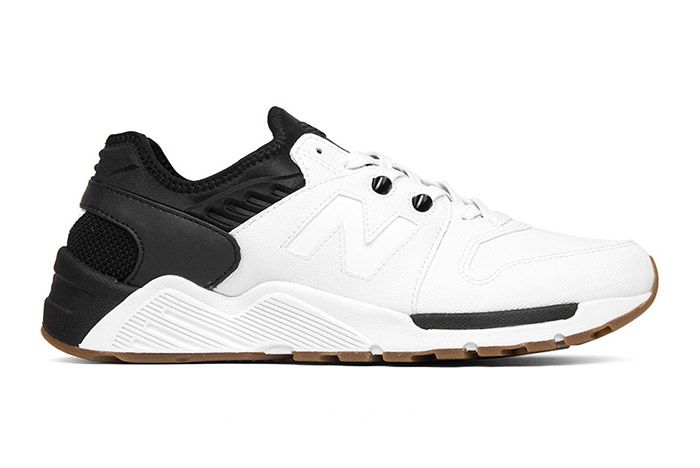 New Balance 009 White Black 4