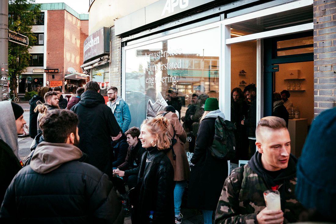 New Balance 990V5 Allike Launch Event Recap May 2019 7 Crowd Outside