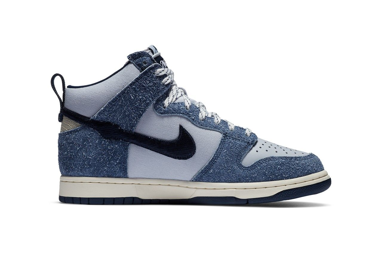 Notre x Nike Dunk High Blue Void