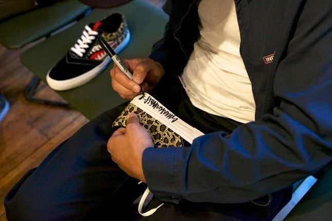 Losers Launch Sneaker Wolf Signing 1