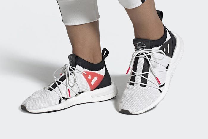 Adidas Arkyn White Black Red Pair
