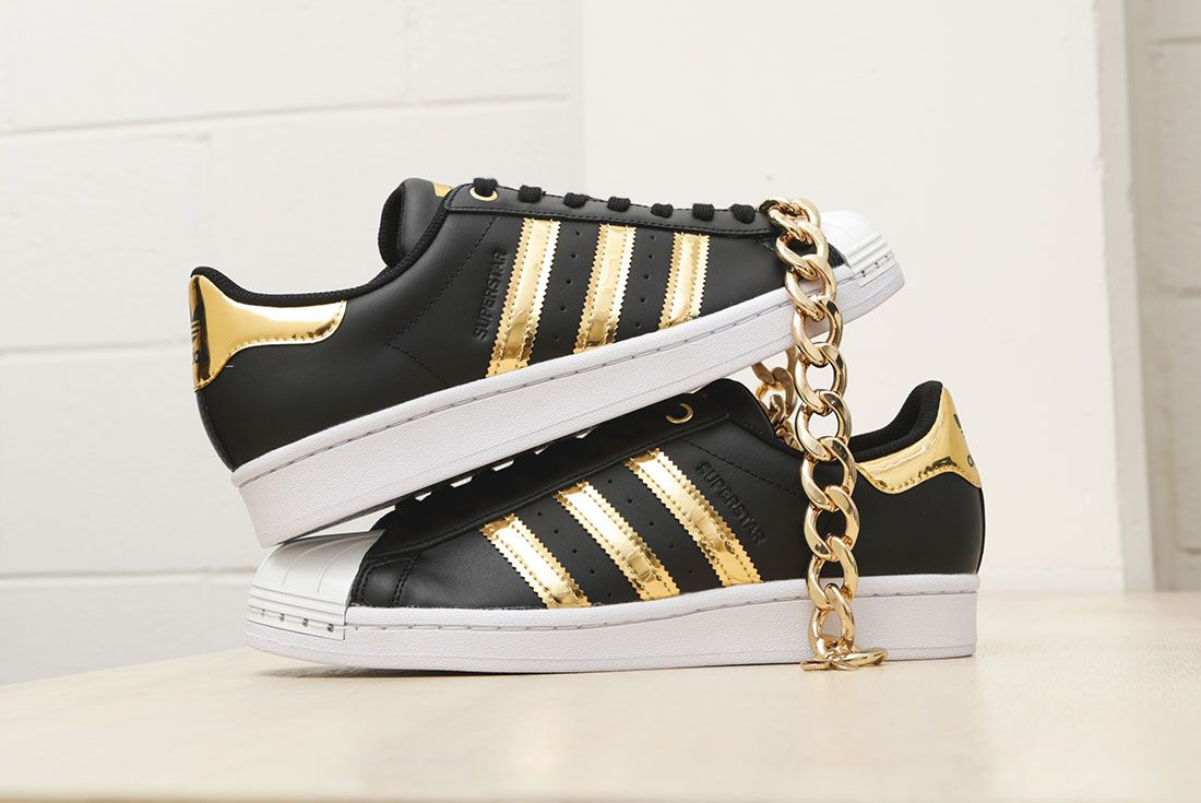 Adidas Metallic Gold Pack Superstar 50Th Anniversary Jd Sports Exclusive Hero5