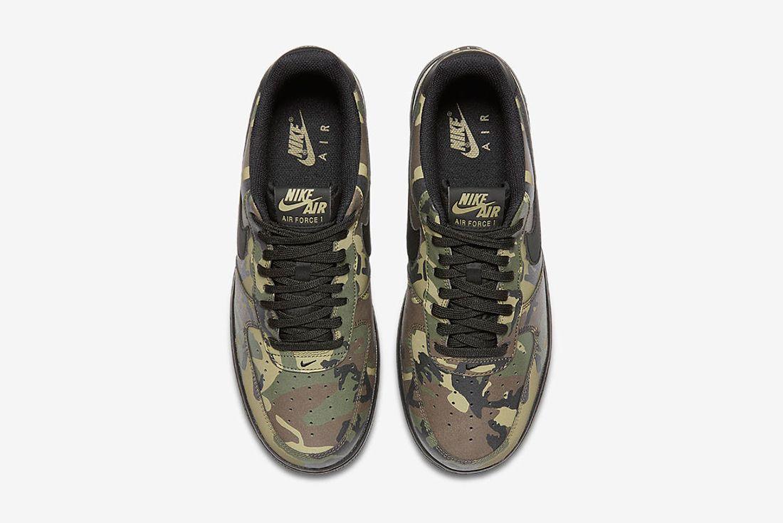 Nike Air Force 1 Camo Reflective 4 1