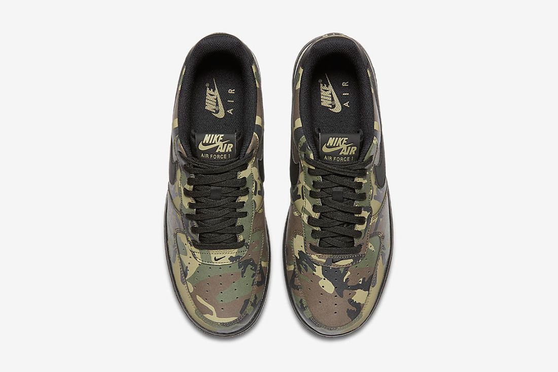 Nike Air Force 1 Camo Reflective 4 1