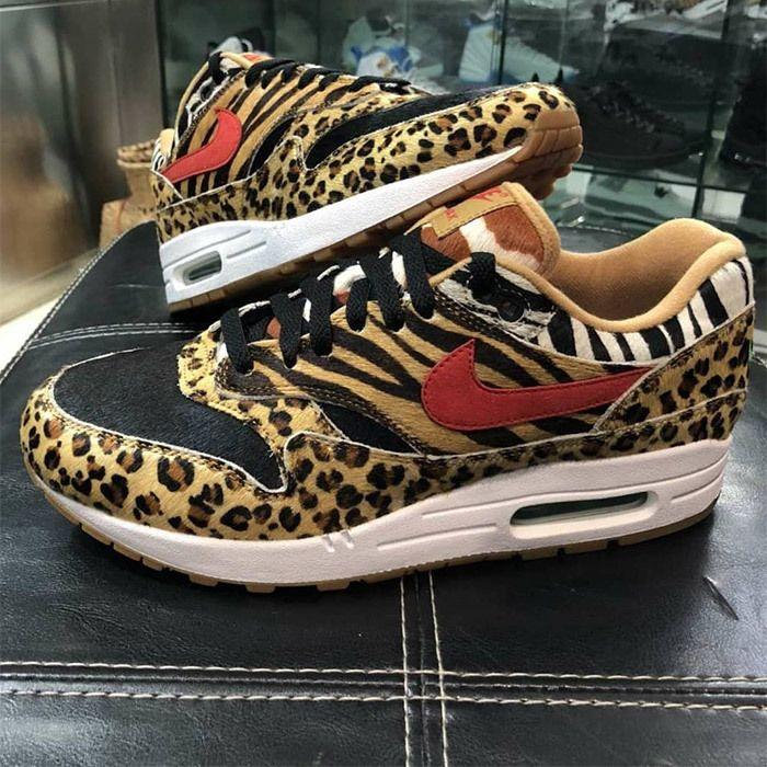 Atmos X Nike Air Max 1 Beast Pack Animal Pack 2 0 Sneaker Freaker 5