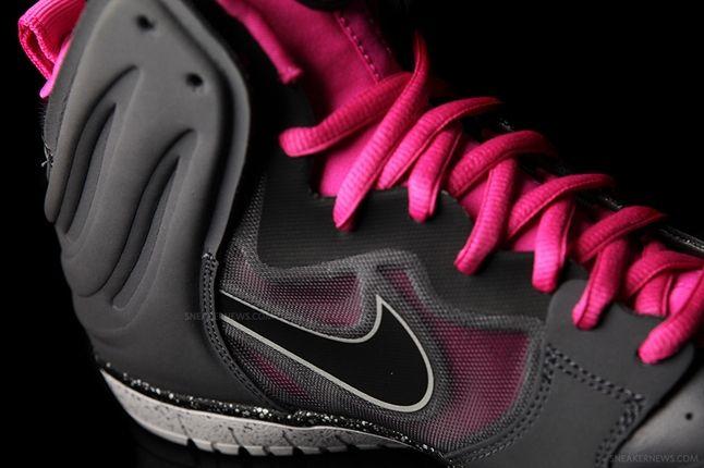 Nike Dunk High Free Grey Pink Midfoot 1