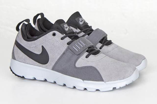 Nike Sb Trainerendor Cool Greyblackwolf Grey