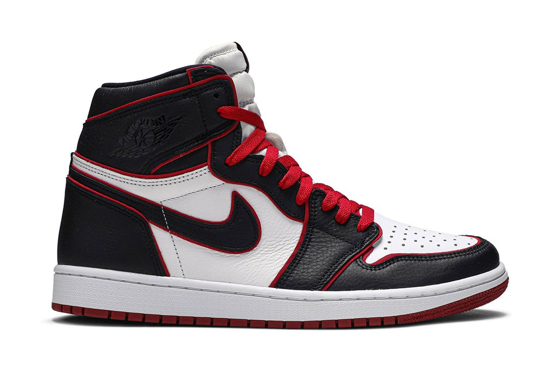 Air Jordan 1 Retro High Og Bloodline 555088 062 Lateral