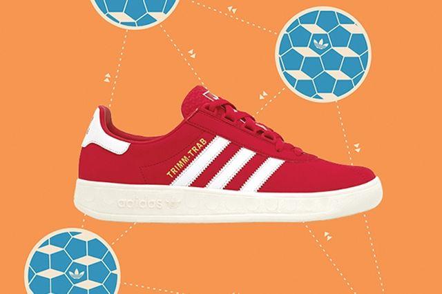 Adidas Trimm Tab Red