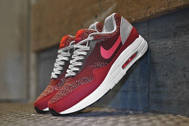 Nike Air Max 1 Jacquard Gym Red 6