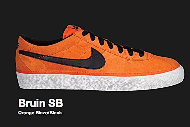 Nike Orange Blaze Bruin Sb 2010 1