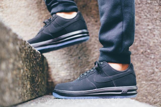 Nike Lunar Force 1 Black Ice 1