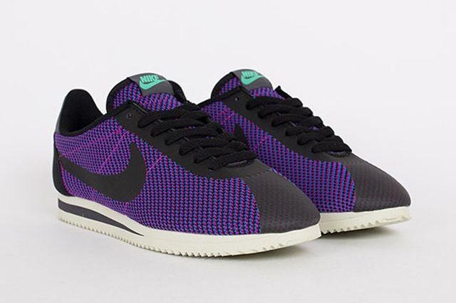 Nike Cortez Black Purple 2
