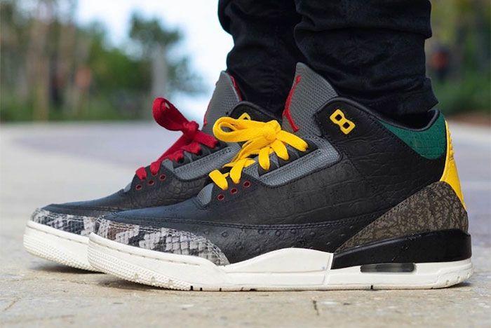 Air Jordan 3 Animal Instinct 2 0 On Feet 2