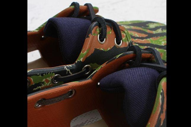 Crocs Elite Camo Boat Shoe Detail 1