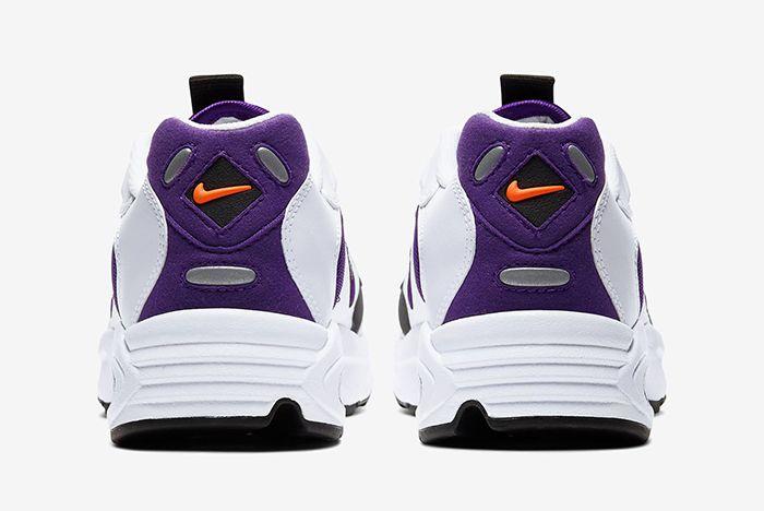 Nike Triax 2 White Purple Heel