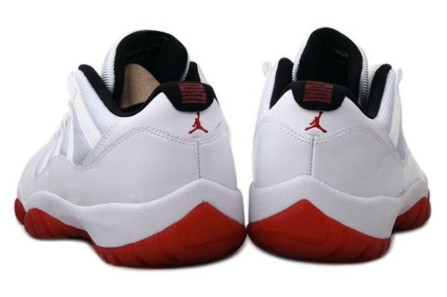 Air Jordan 11 Low White Red 05 1