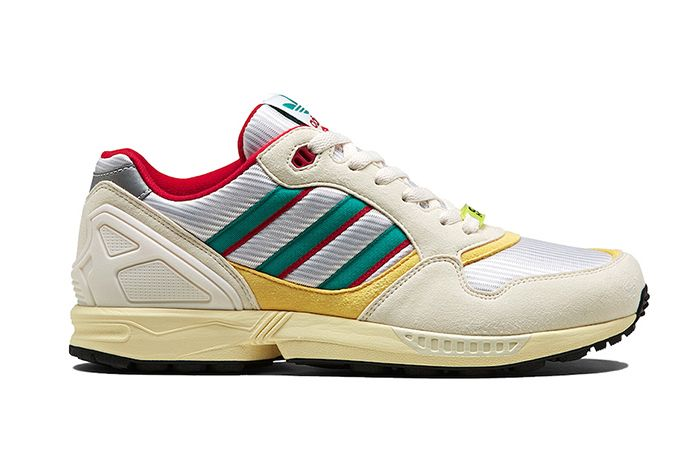 Adidas Zx 6000 Creme Red Yellow Fu8405 Release Date Lateral