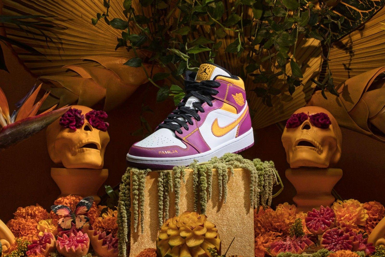 Air Jordan 1 Mid 'Dia de Muertos'