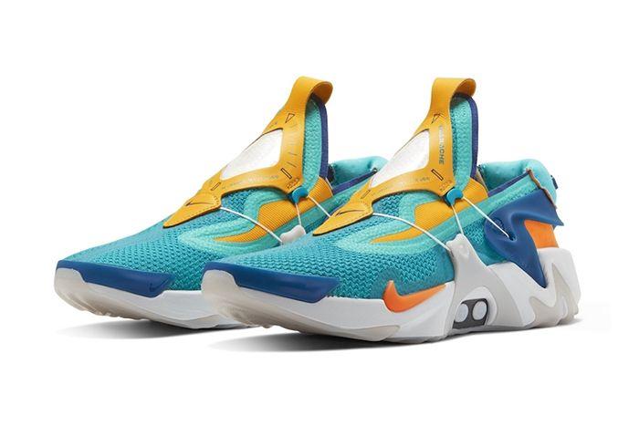 Nike Adapt Huarache Teal Leak First Look Release Date Pair