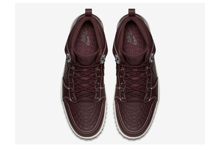 Nike Dunk High Sneakerboot Mahogany 4