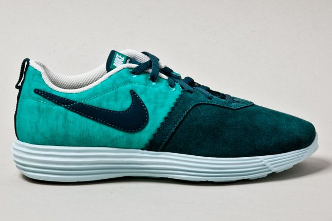 Nike Lunarmtrl Teal Side 1