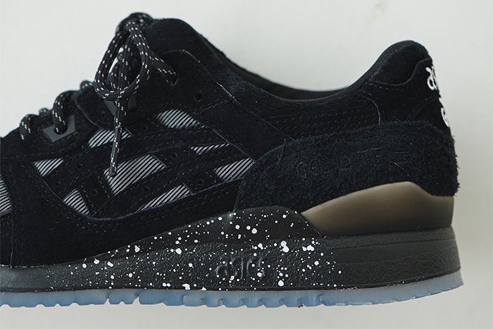 Emmi Japan Asics Gel Lyte Iii Black Release Date Closeup