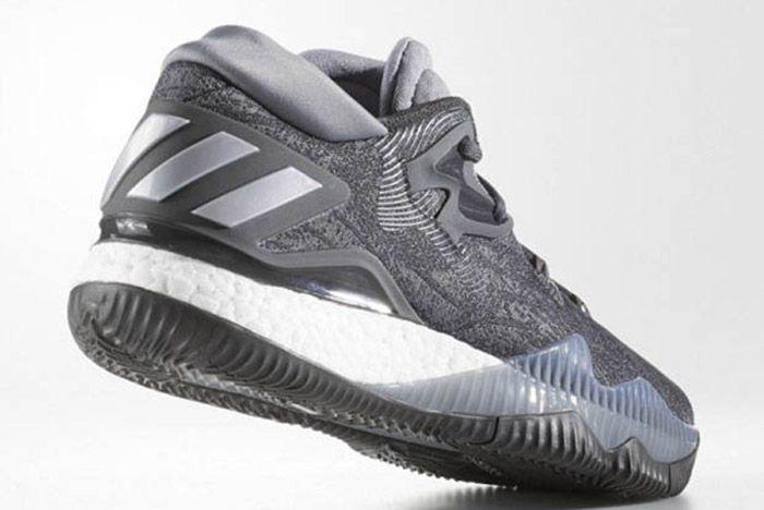 Adidas Crazylight Boost 2016 Grey Silver 2