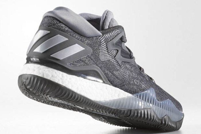 Adidas Crazylight Boost 2016 Grey Silver 2