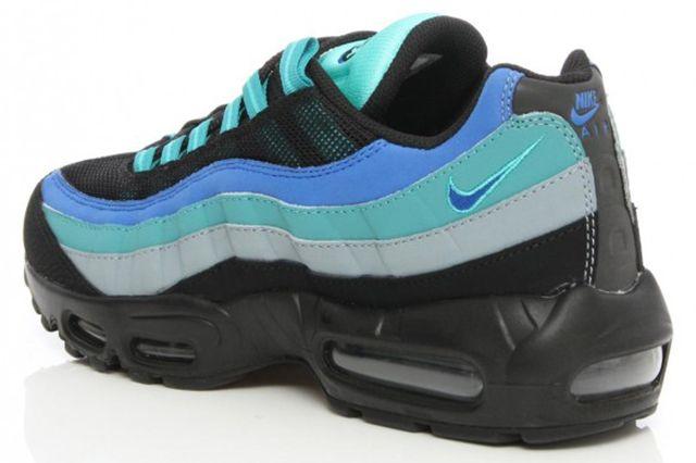 Nike Air Max 95 Black Hyper Cobalt 4 E1411417689360 580X468